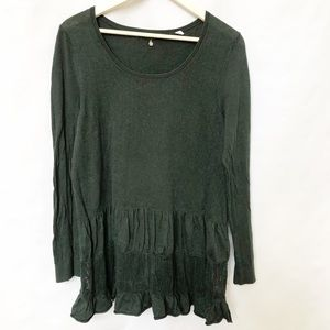 Anthropology | Knitted & Knotted Long Sleeve Top